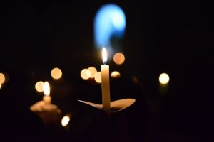Benção do Fogo Novo e Santa Missa
